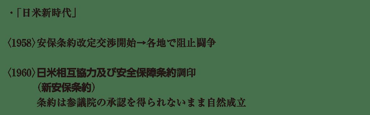 現代10 ポイント2 ・日米新時代 から 自然成立 まで