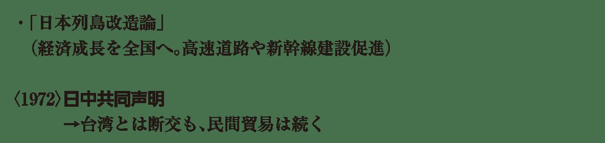 現代14 ポイント1 ・「日本列島改造論」 から 貿易は続く まで