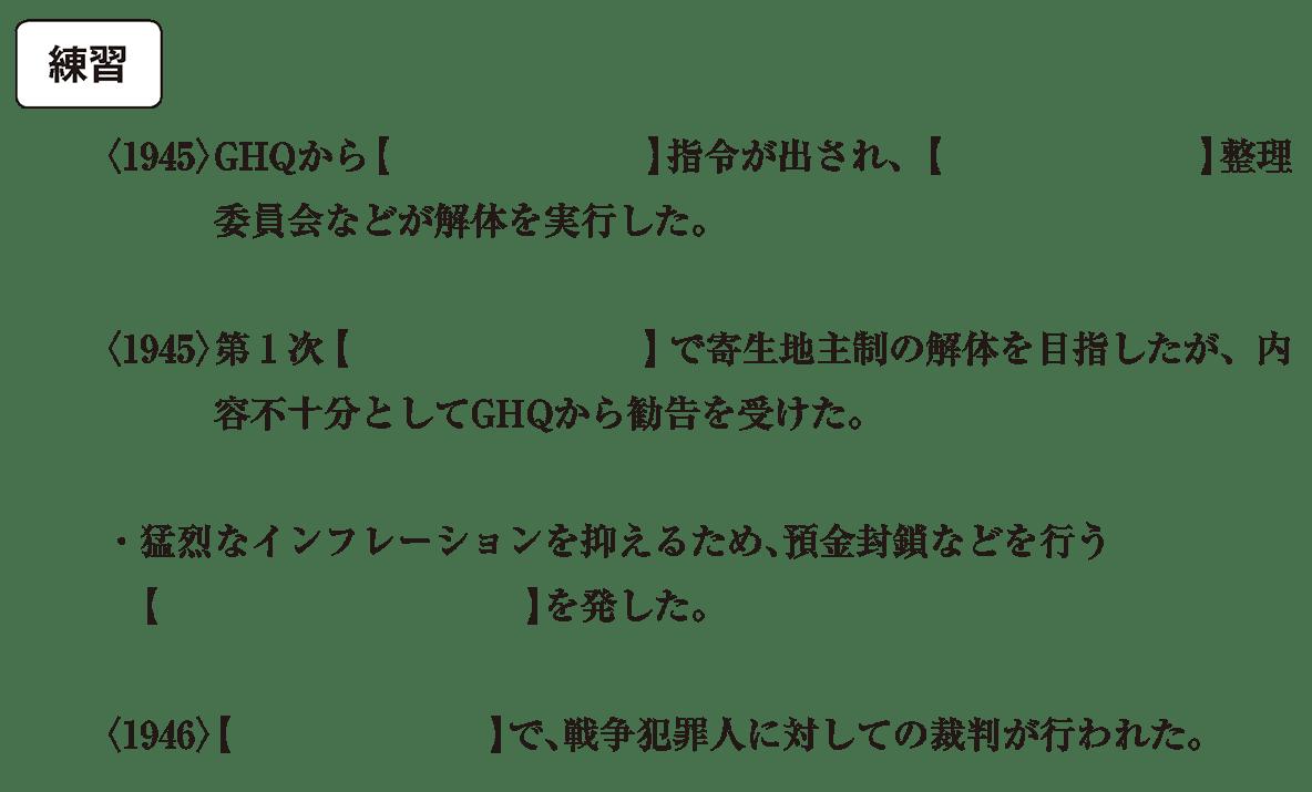 現代02 練習 空欄