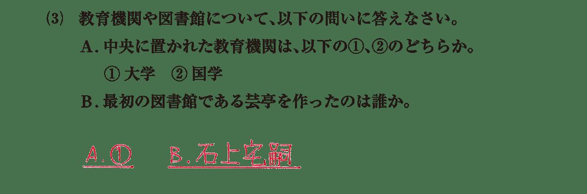 原始・古代文化12 問題2(3) 解答