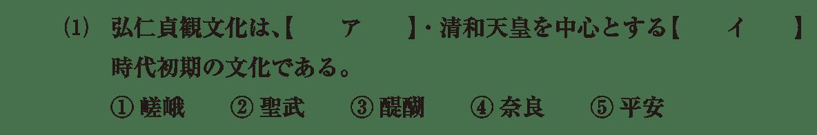 原始・古代文化15 問題1(1) 問題