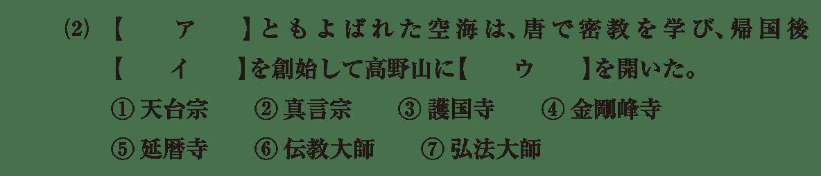 原始・古代文化15 問題1(2) 問題