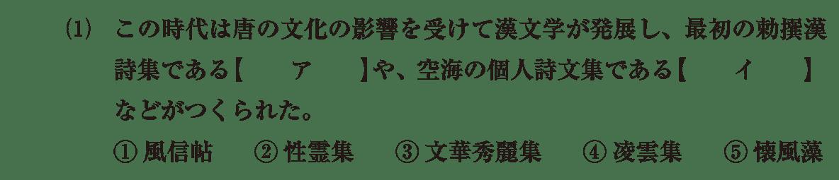 原始・古代文化18 問題1(1) 問題