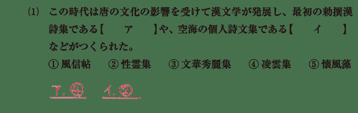 原始・古代文化18 問題1(1) 解答