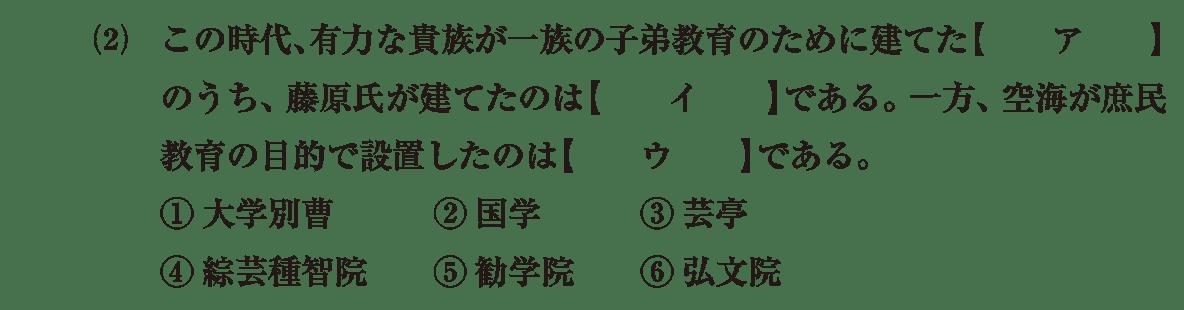 原始・古代文化18 問題1(2) 問題