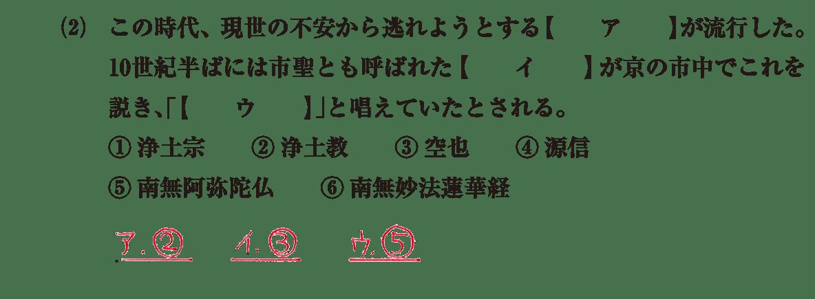 原始・古代文化21 問題1(2) 解答