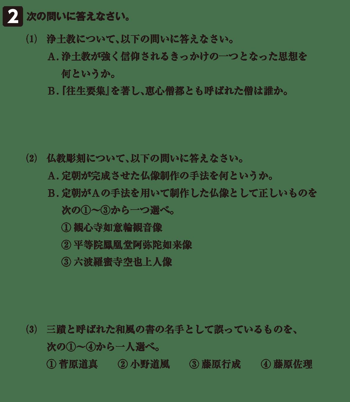 原始・古代文化21 問題2 問題