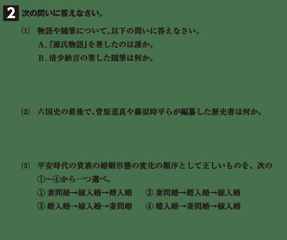 原始・古代文化24 問題2 問題