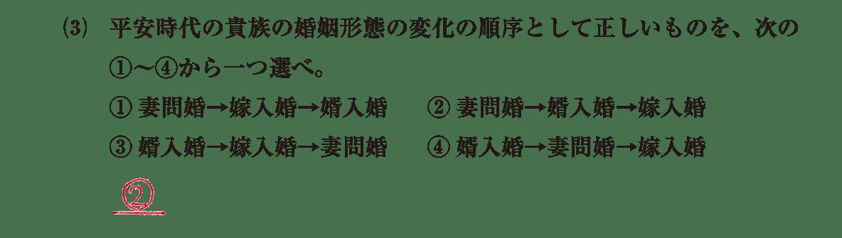 原始・古代文化24 問題2(3) 解答