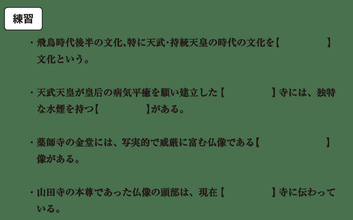 原始・古代文化4 練習 空欄