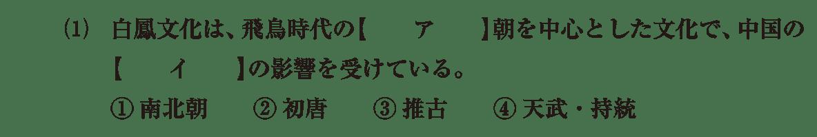 原始・古代文化6 問題1(1) 問題