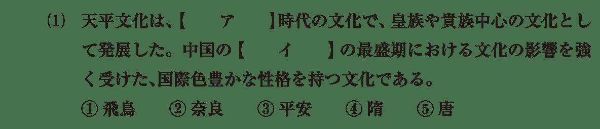 原始・古代文化9 問題1(1) 問題