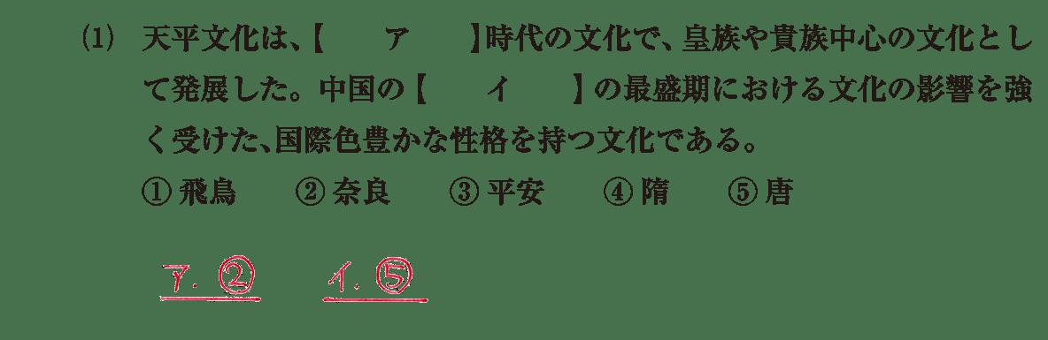 原始・古代文化9 問題1(1) 解答