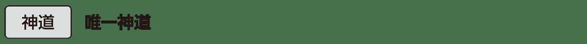 中世の文化17 単語3 神道