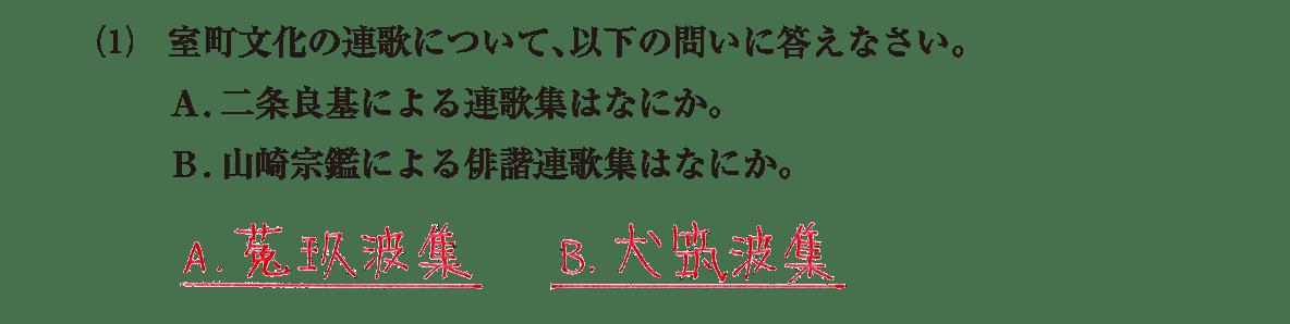 中世の文化24 問題2(1) 解答