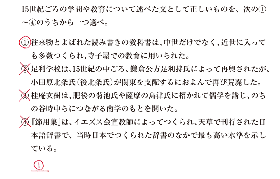 中世の文化24 問題3 解答