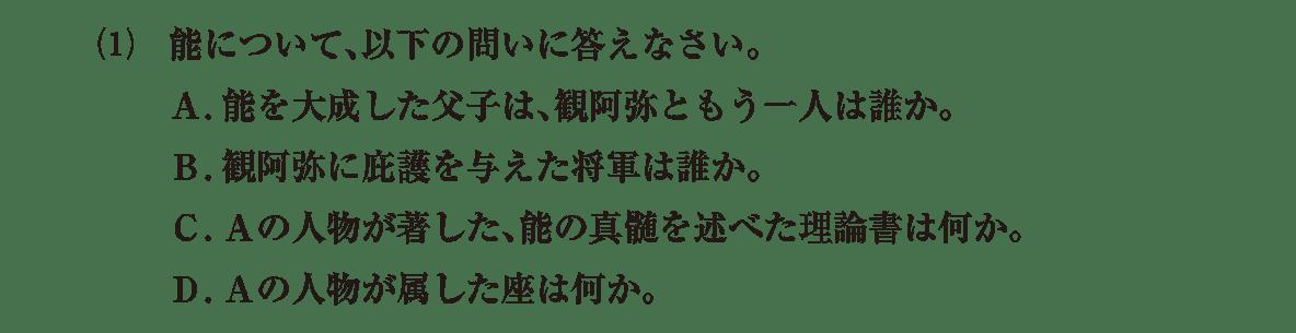中世の文化27 問題2(1) 問題