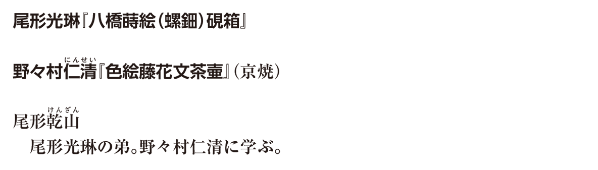 近世の文化10 ポイント3 尾形光琳 から野々村仁清に学ぶ。 まで (写真なし)