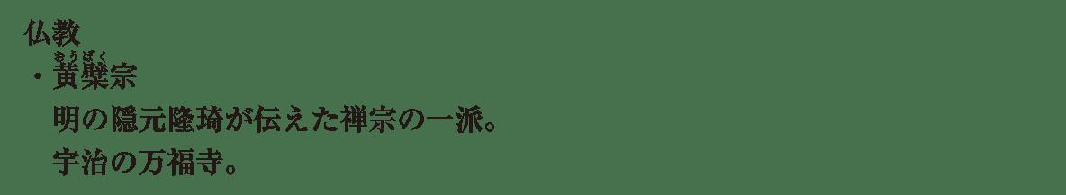 近世の文化11 ポイント4 仏教 から 最後まで