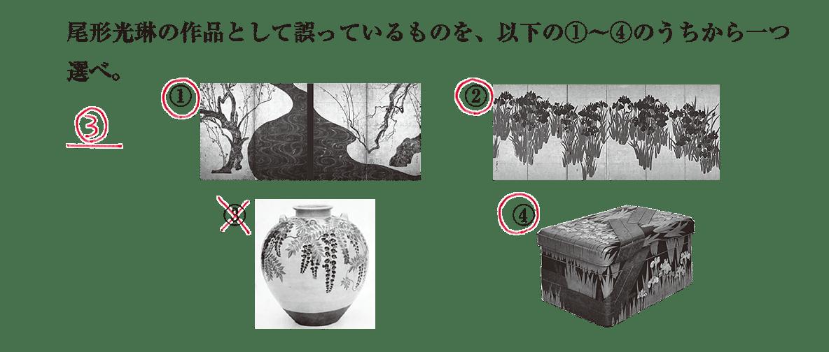 近世の文化12 問題3 解答