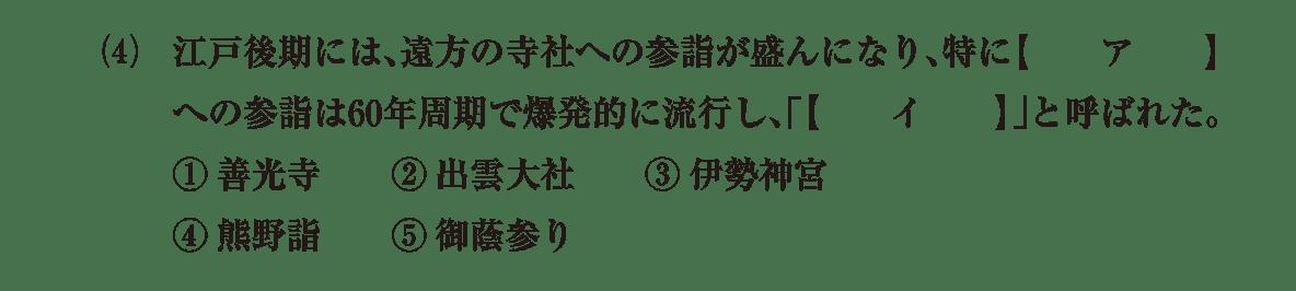 近世の文化15 問題1(4) 問題