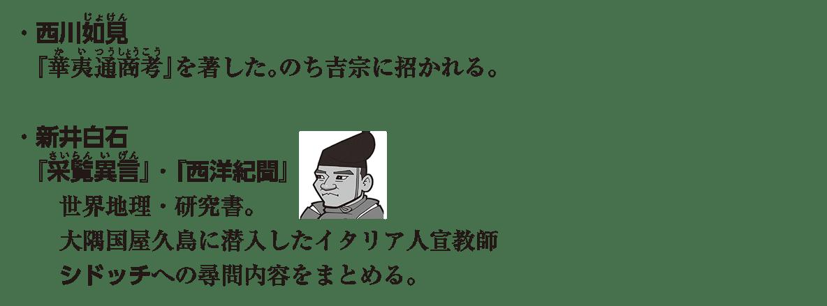 近世の文化31 ポイント1 ・西川如見 から内容をまとめる。 まで (イラストも込み)