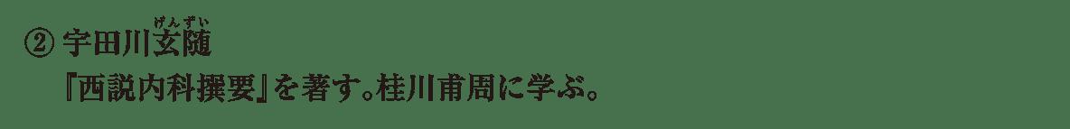 近世の文化32 ポイント2 宇田川の2行分
