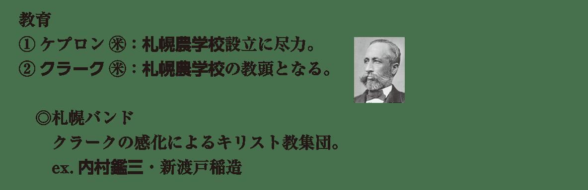 近現代の文化11 ポイント3 教育 新渡戸稲造 まで (写真込み)