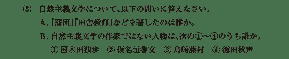 近現代の文化18 問題2(3) 問題