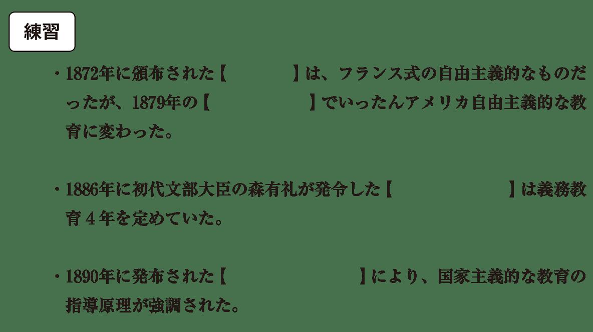 近現代の文化7 練習 空欄