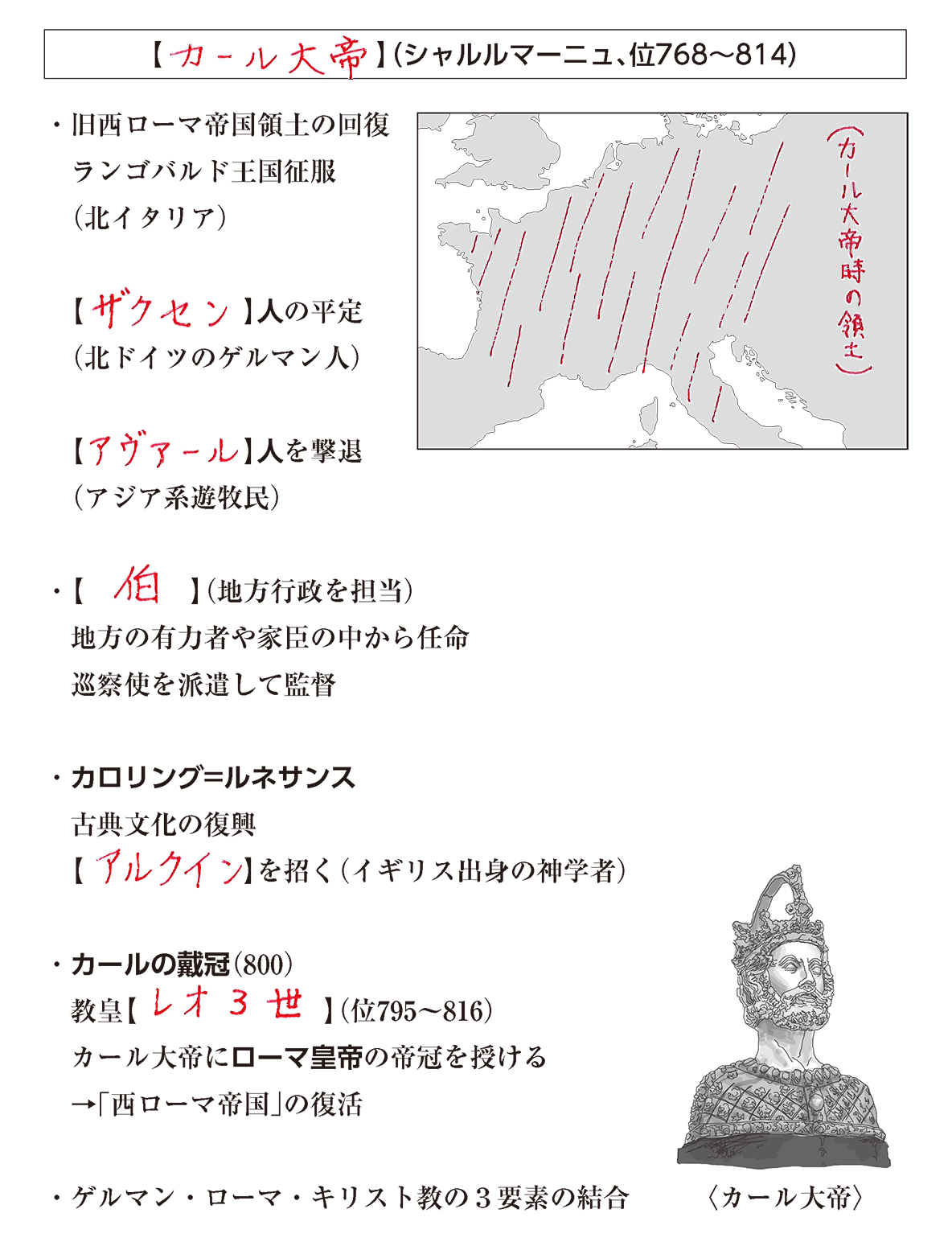 高校世界史 中世ヨーロッパ世界の成立2 答え全部