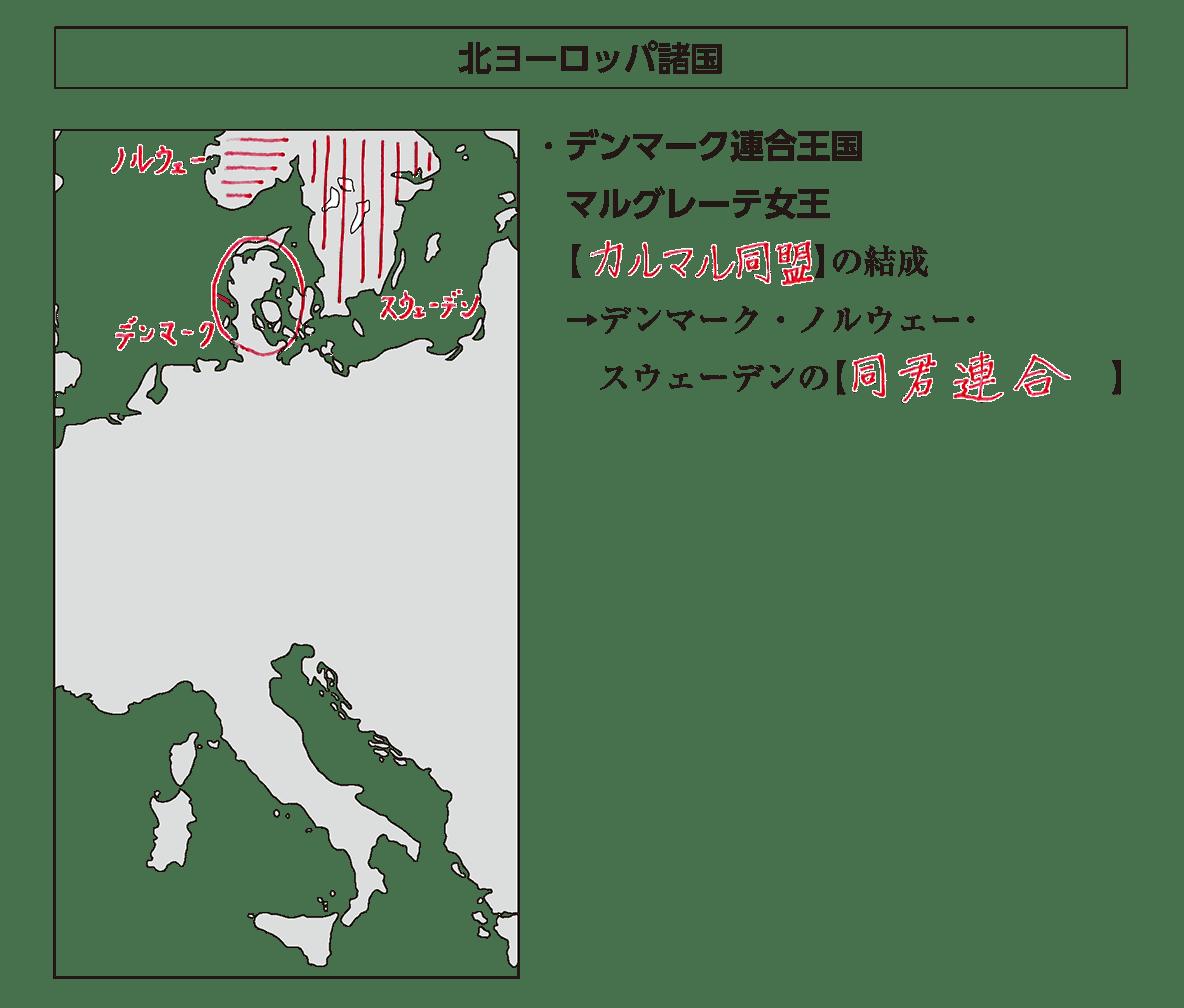 高校世界史 中世ヨーロッパ世界の各国史3 ポ3 答え全部