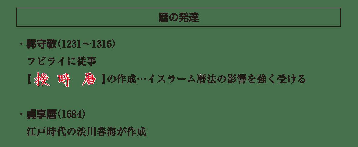 高校世界史 東アジア世界の展開6 ポ3 答え全部