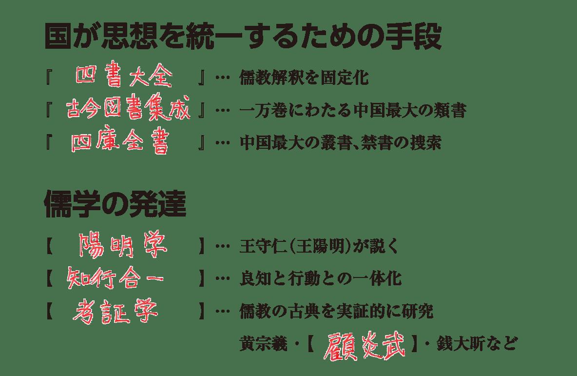 高校世界史 明・清の時代6 練習