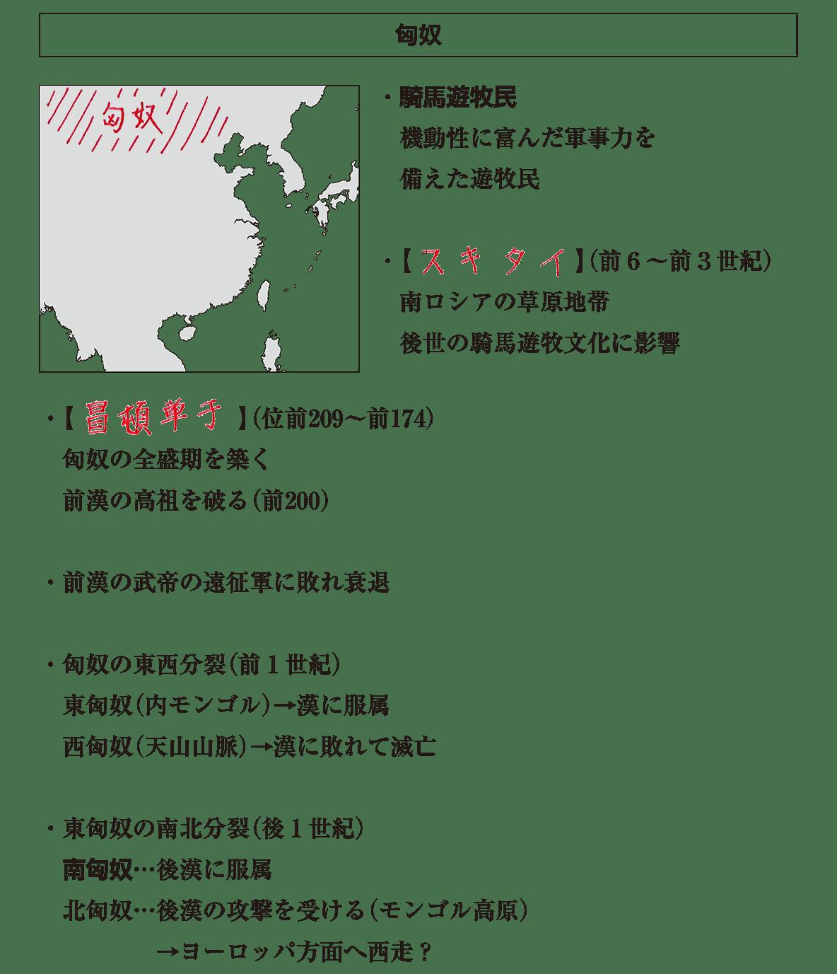高校世界史 中国周辺地域史1 ポ1 答え全部