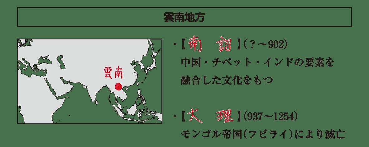 高校世界史 中国周辺地域史2 ポ2 答え全部