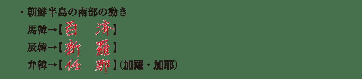 image03の続き4行/・朝鮮半島の南部の動き~最後まで