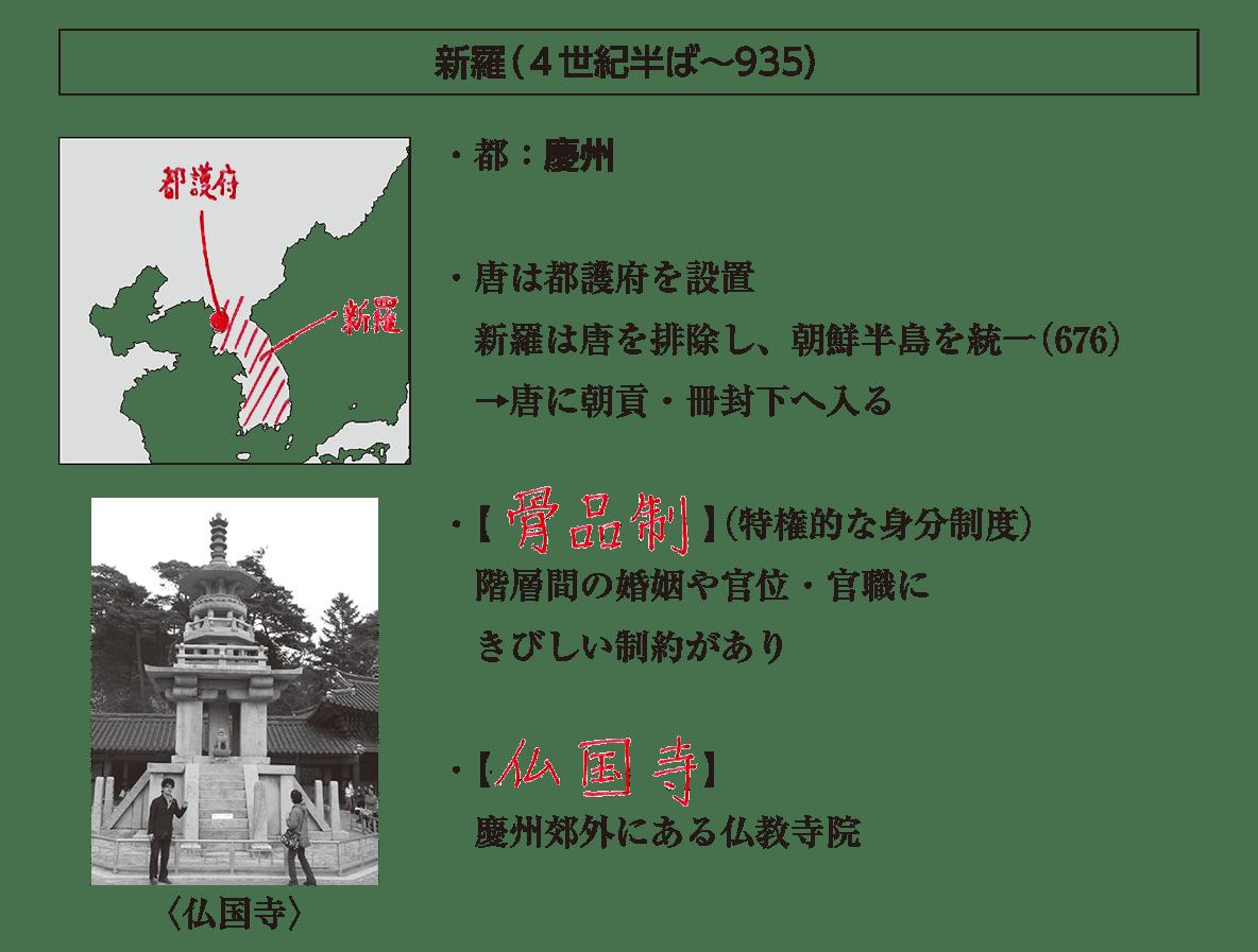 高校世界史 中国周辺地域史4 ポ1 答え全部