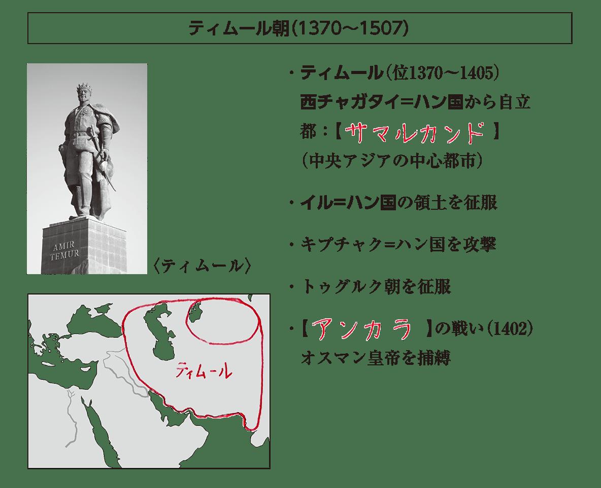 高校世界史 イスラーム世界の繁栄1 ポ1 答え全部