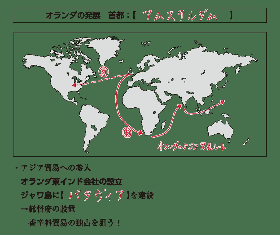 見出し+地図+テキスト冒頭5行/~香辛料貿易の独占を狙う!、まで