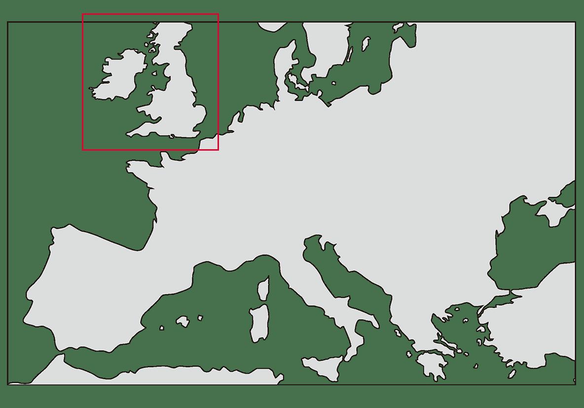 地図/イギリスを枠で囲んでください/ppt参照