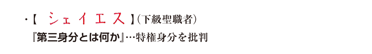 image03の続き2行/シェイエス~特権身分を批判