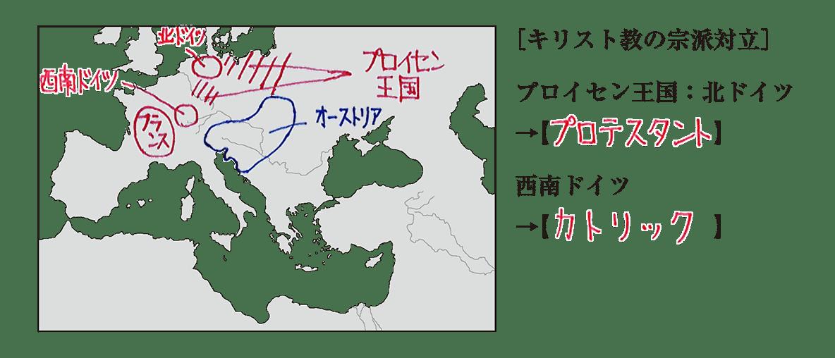 高校世界史 19世紀欧米諸国(1)5 ポイント1 答え全部