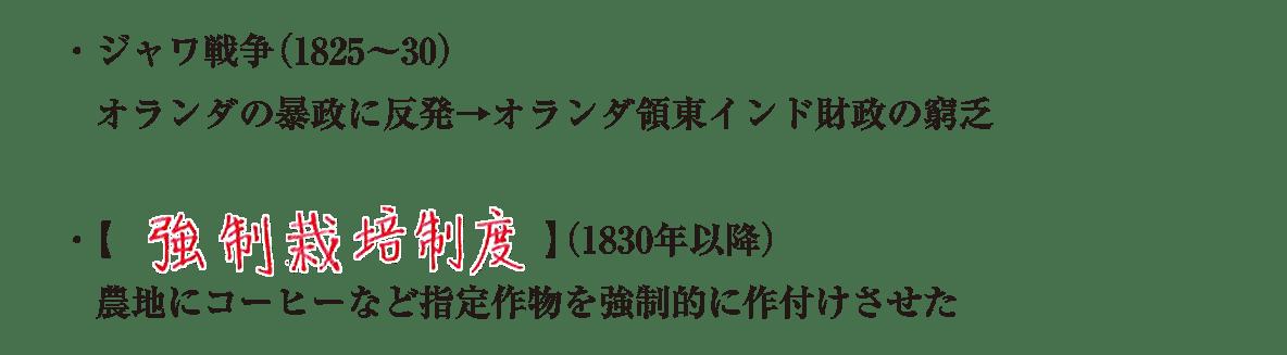 image02の続き4行/ジャワ戦争~作付けさせた