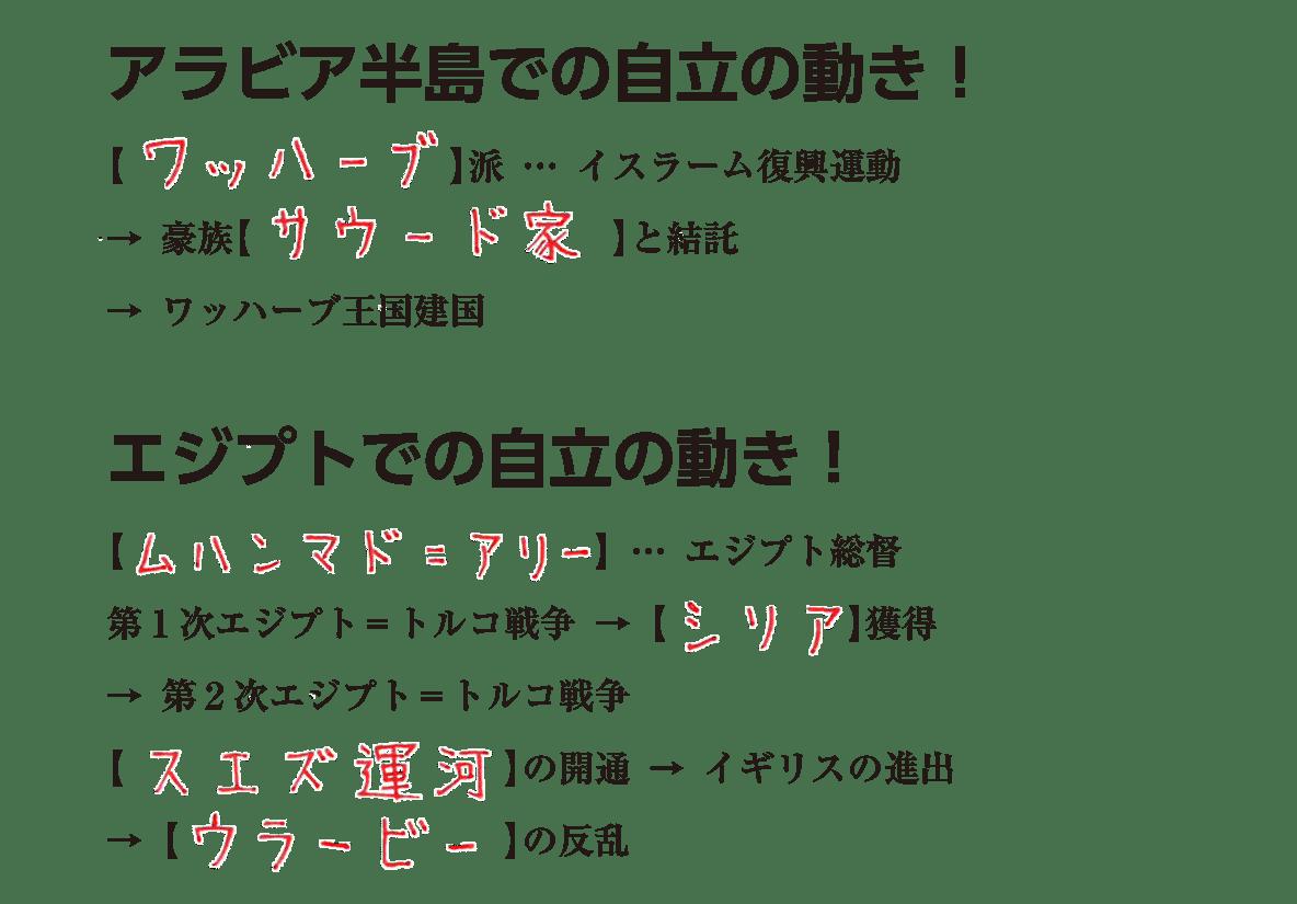 アジア諸地域の植民地化4 練習 答え