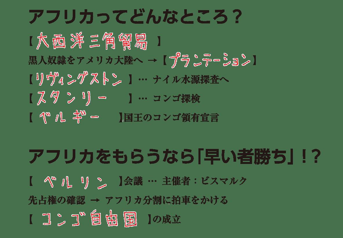 世界分割と列強の対立1 練習 答え
