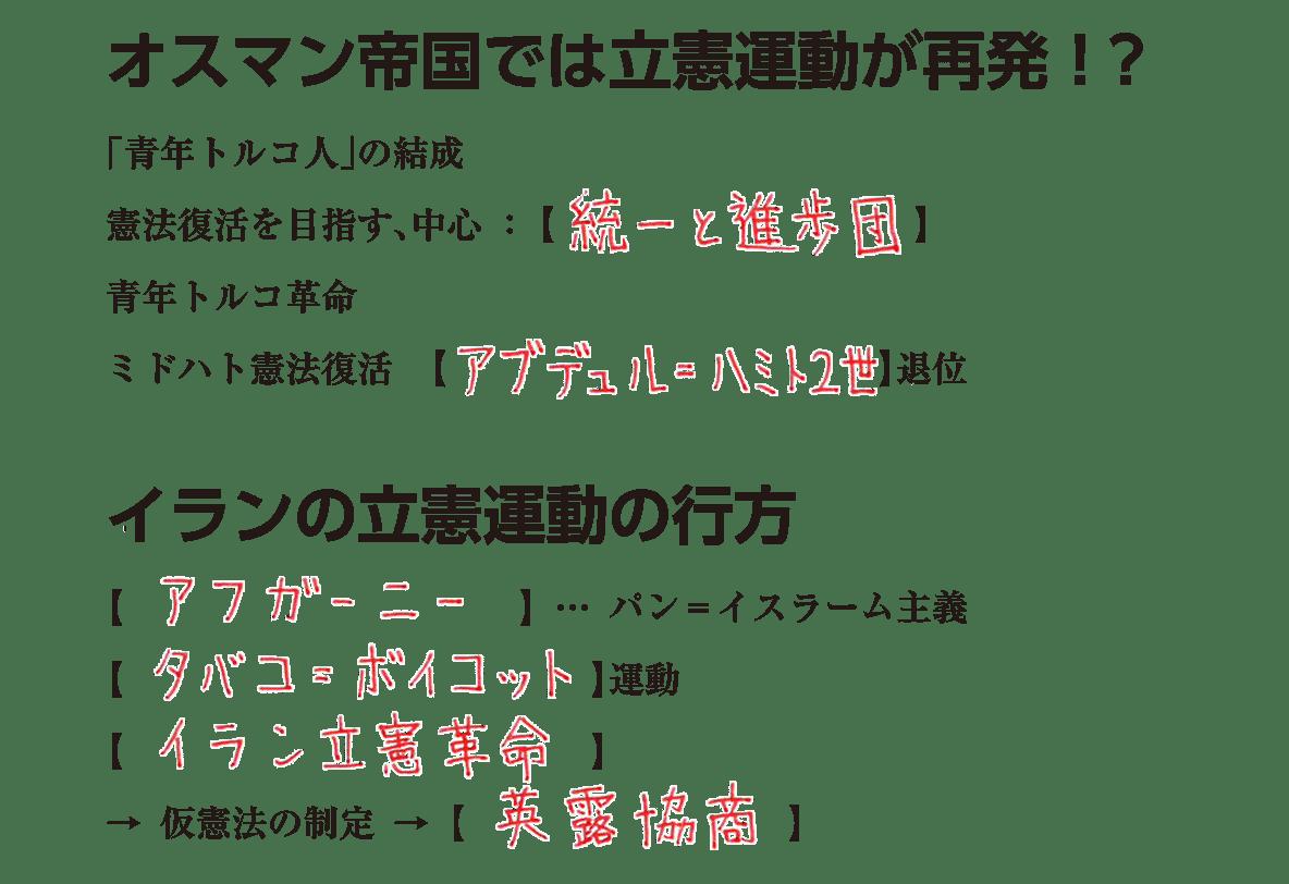 帝国主義とアジアの民族運動3 練習 答え