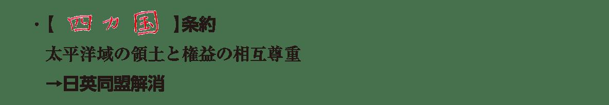 見出し不要/テキスト3行/四カ国同盟の説明