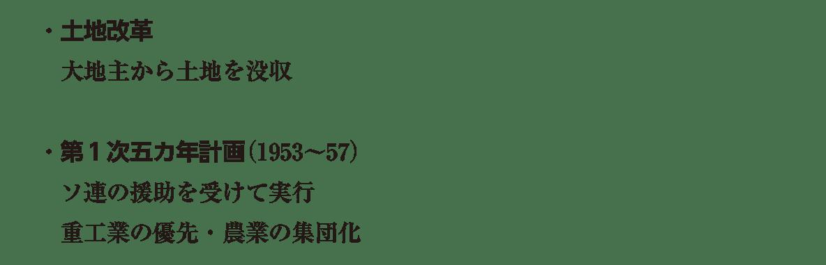 image04の続き5行/土地改革~農業の集団化