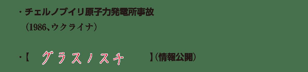 テキストのみ3行/チェルノブイリ~(情報公開)